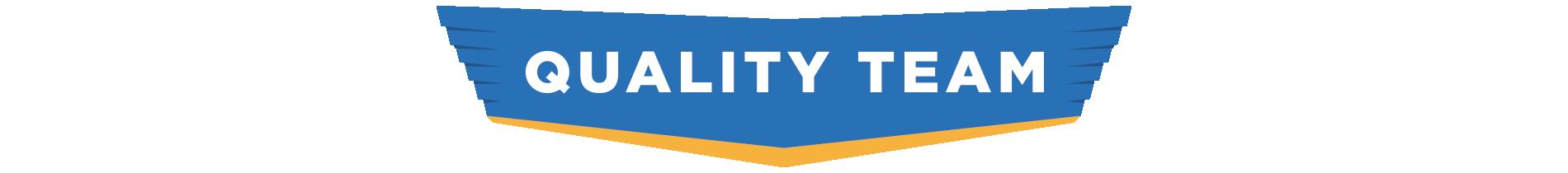 Quality team logo